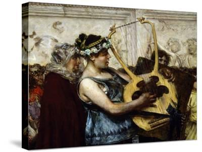 Marriage Proposal-Giovanni Muzzioli-Stretched Canvas Print