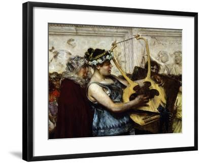 Marriage Proposal-Giovanni Muzzioli-Framed Giclee Print