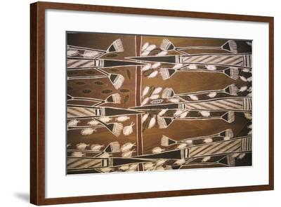 Aboriginal Design--Framed Giclee Print
