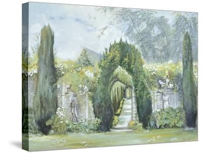 Yew Arches, Garsington Manor, 1997-Ariel Luke-Stretched Canvas Print