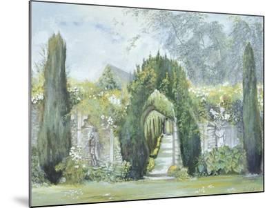 Yew Arches, Garsington Manor, 1997-Ariel Luke-Mounted Giclee Print