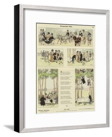 Disagreeable Guests--Framed Giclee Print