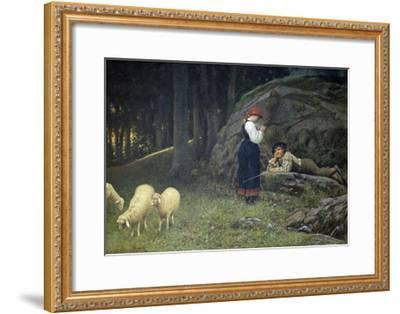 Grazing-Francesco Burlazzi-Framed Giclee Print
