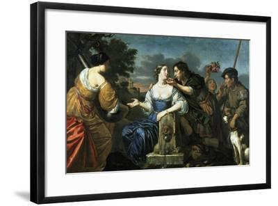 Returning from Hunt by Jan Van Bijlert--Framed Giclee Print