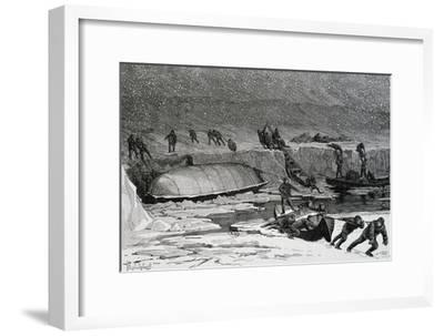 Discovery of Remains of Adolphus Greely'S--Framed Giclee Print