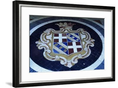 Crest in Grand Masters' Palace, Valletta--Framed Photographic Print