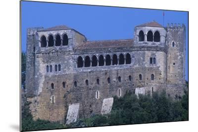Portugal, Leiria, Leiria Castle--Mounted Giclee Print