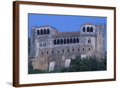Portugal, Leiria, Leiria Castle--Framed Giclee Print