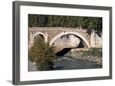 Pons Fabricius--Framed Giclee Print