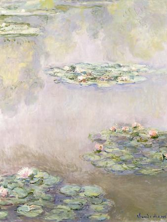 Nympheas, 1908-Claude Monet-Framed Giclee Print