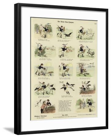 The Little Don Quixote--Framed Giclee Print