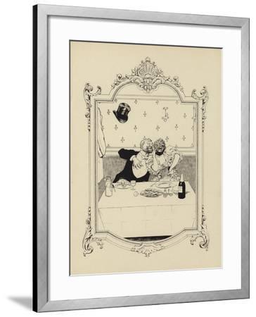Cartoon from Memoires D'Une Glace-Albert Guillaume-Framed Giclee Print