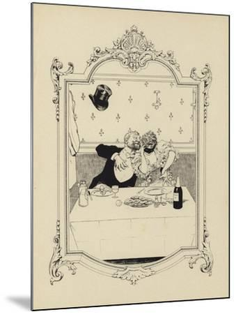 Cartoon from Memoires D'Une Glace-Albert Guillaume-Mounted Giclee Print