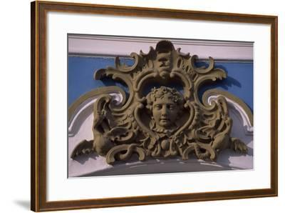 Stucco Decorations at Catherine Palace--Framed Giclee Print