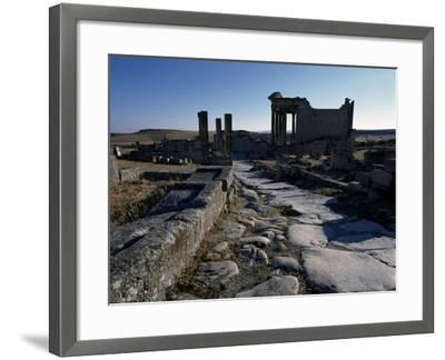 Ruins of Ancient Roman City--Framed Giclee Print