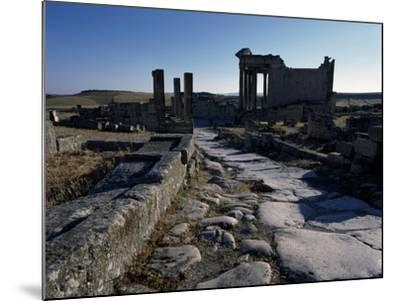 Ruins of Ancient Roman City--Mounted Giclee Print