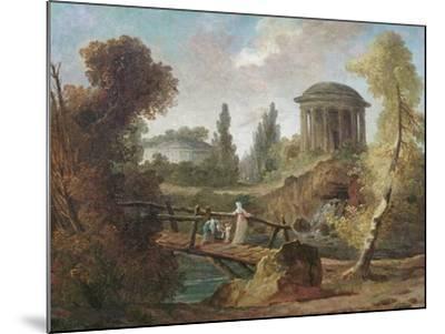 The Cascades at Tivoli, C.1775-Hubert Robert-Mounted Giclee Print