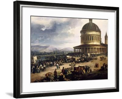 Feast of St Michael-Carlo Ferrari-Framed Giclee Print