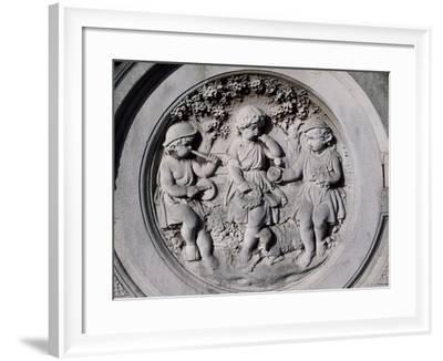 Scene with Putti-John Thomas-Framed Giclee Print