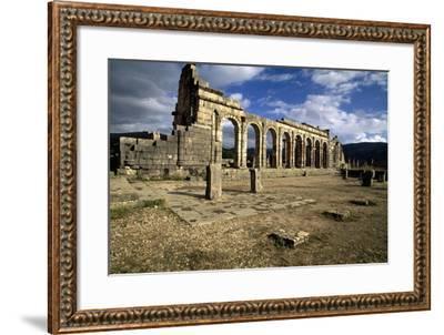 Ruins of Basilica--Framed Giclee Print