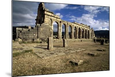 Ruins of Basilica--Mounted Giclee Print