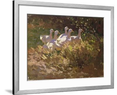 The Adventurers-Edgar Downs-Framed Giclee Print