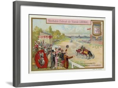 Cars Powered by the Internal Combustion Engine--Framed Giclee Print