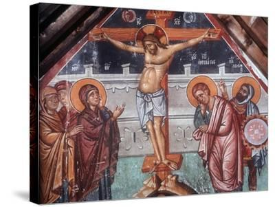 The Crucifixion-Philippos Goul-Stretched Canvas Print