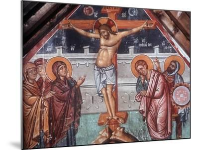 The Crucifixion-Philippos Goul-Mounted Giclee Print