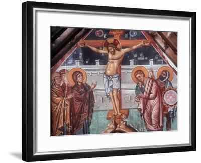 The Crucifixion-Philippos Goul-Framed Giclee Print