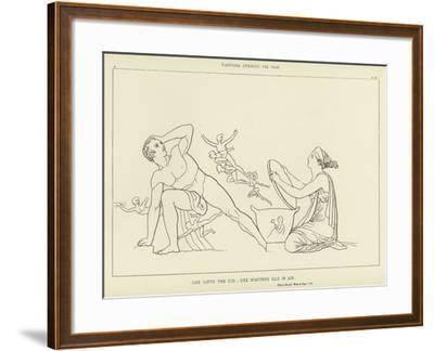 Pandora Opening the Vase-John Flaxman-Framed Giclee Print