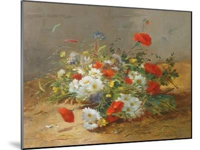 Flower Study-Eugene Henri Cauchois-Mounted Giclee Print