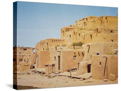 Taos Pueblo, New Mexico--Stretched Canvas Print