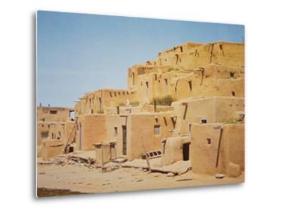 Taos Pueblo, New Mexico--Metal Print