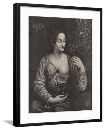 Portrait of a Young Lady--Framed Giclee Print