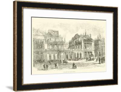 Ruins of the Palais Royal, May 1871--Framed Giclee Print
