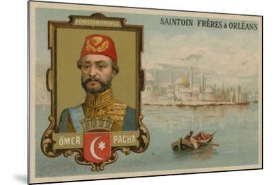 Omar Pasha, Ottoman General and Governor--Mounted Giclee Print