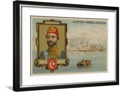Omar Pasha, Ottoman General and Governor--Framed Giclee Print