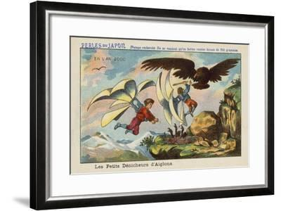 Robbing an Eagle's Nest in the Year 2000--Framed Giclee Print