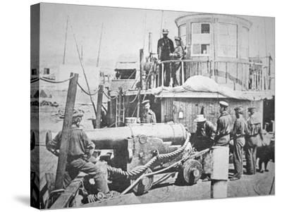 Federal Gun-Boat, Thomas Freeborn--Stretched Canvas Print