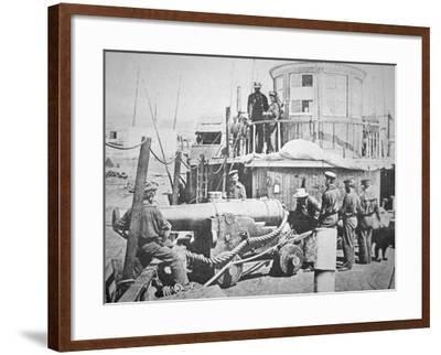 Federal Gun-Boat, Thomas Freeborn--Framed Photographic Print