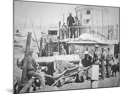 Federal Gun-Boat, Thomas Freeborn--Mounted Photographic Print