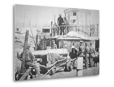 Federal Gun-Boat, Thomas Freeborn--Metal Print