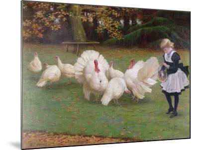 Feeding Time-Philip Richard Morris-Mounted Giclee Print