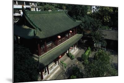 Buddhist Temple of the Six Banyan Trees--Mounted Giclee Print