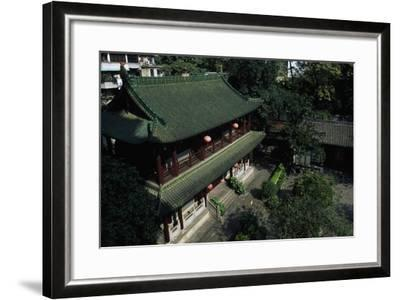 Buddhist Temple of the Six Banyan Trees--Framed Giclee Print