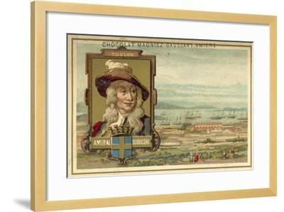 Toulon - Admiral Duquesne--Framed Giclee Print