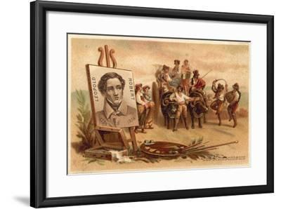 The Harvesters by Louis Leopold Robert-Louis Leopold Robert-Framed Giclee Print