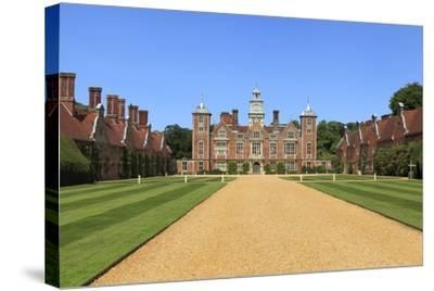 Blickling Hall, Norfolk--Stretched Canvas Print