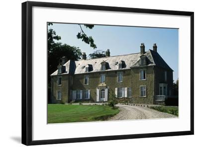 Villeneuve Castle--Framed Giclee Print